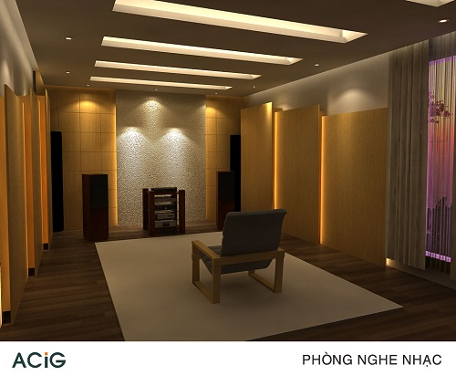 Interior Audio Music Listening Room